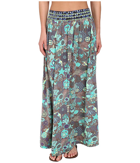 Maaji - Floral Cascade Long Skirt Cover-Up (Multi) Women's Swimwear