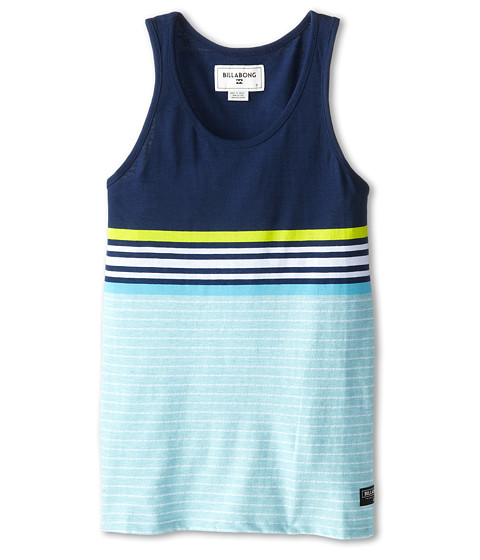 Billabong Kids - Spinner Tank Top (Big Kids) (Blue) Boy's Sleeveless