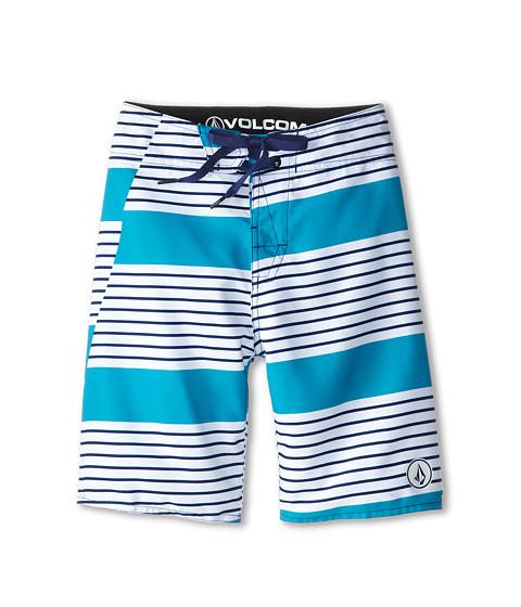 Volcom Kids - Haugg St. Boardshort (Big Kids) (White) Boy's Swimwear