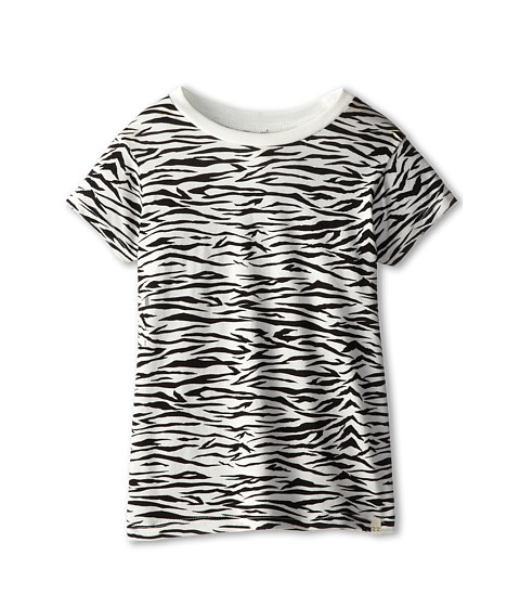 Billabong Kids - Remind You Tee (Little Kids/Big Kids) (Black/White) Girl