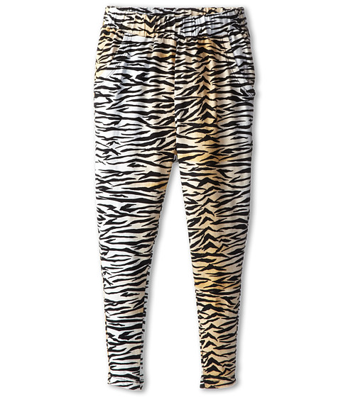 Billabong Kids - Check Out Harem Pant (Little Kids/Big Kids) (Off Black) Girl