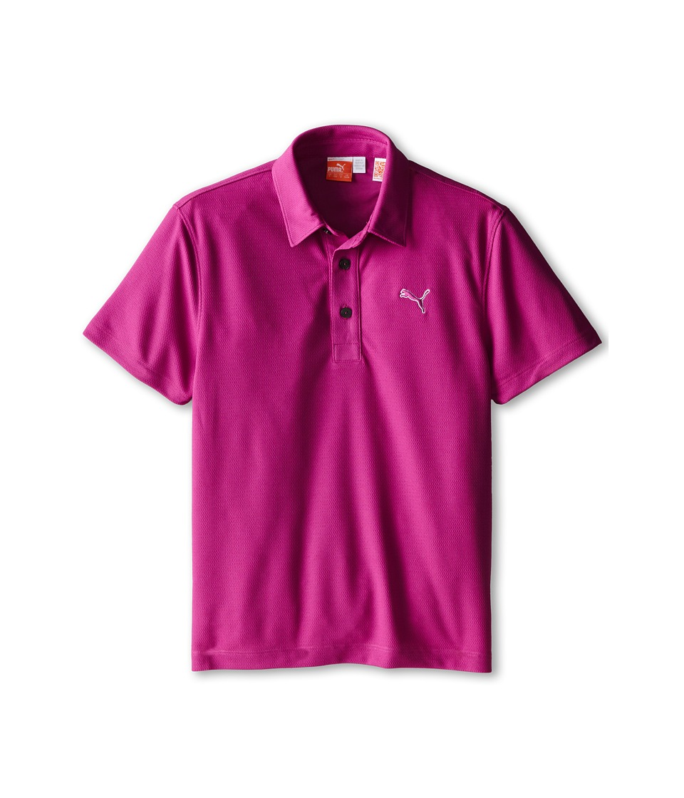 PUMA Golf Kids - Tech Polo (Big Kids) (Vivid Viola) Boy's Short Sleeve Pullover