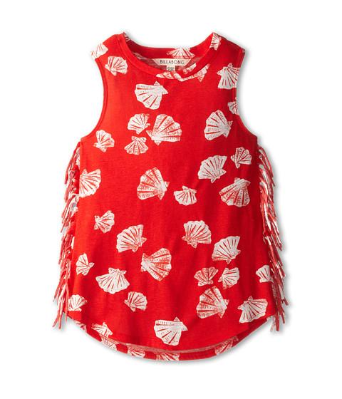 Billabong Kids - Seashell Dayz Dress (Little Kids/Big Kids) (Rio Red) Girl
