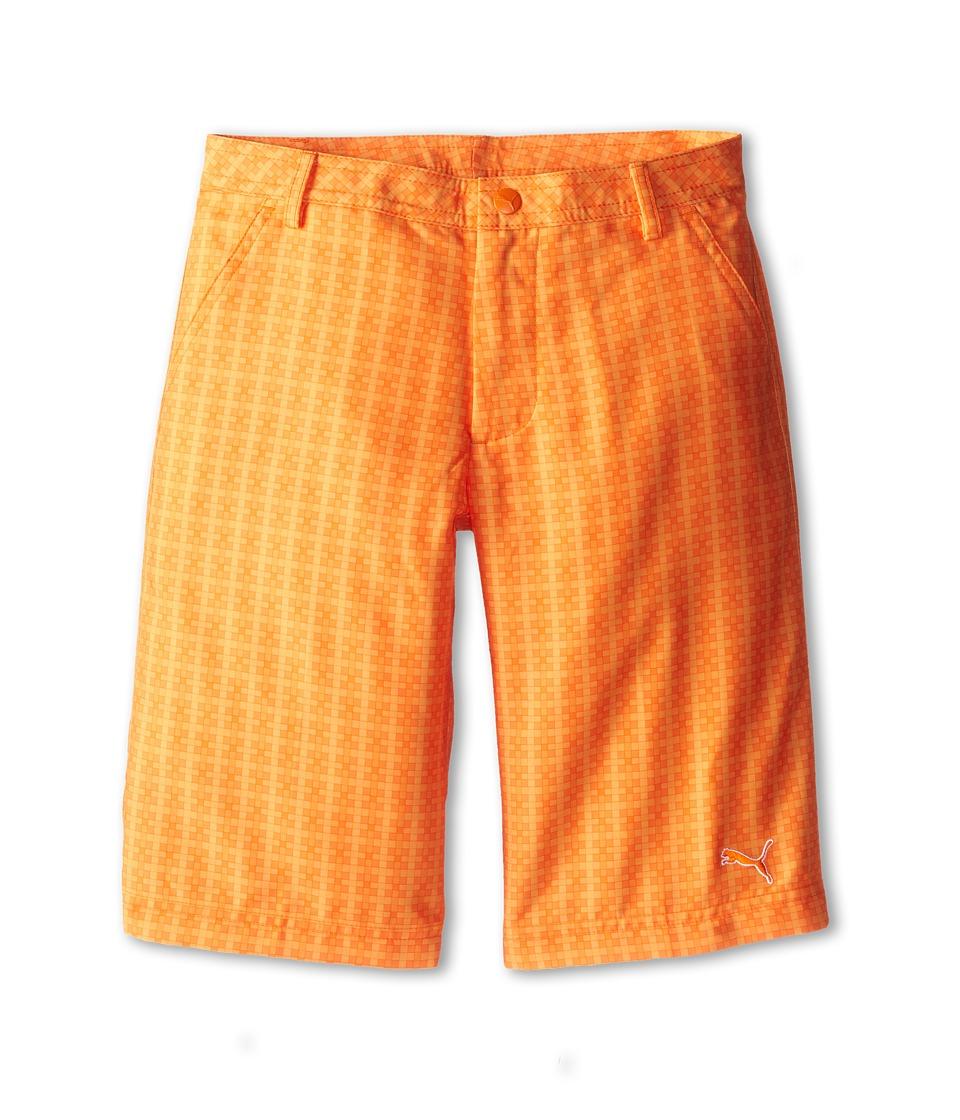 PUMA Golf Kids - Novelty Short (Big Kids) (Vibrant Orange/Orange Peel/Blazing Orange) Boy's Shorts