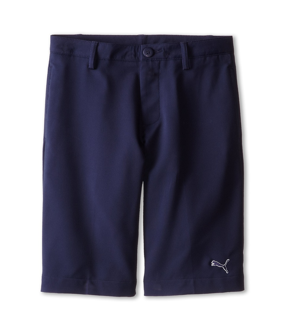 PUMA Golf Kids - Tech Short (Big Kids) (Peacoat) Boy's Shorts