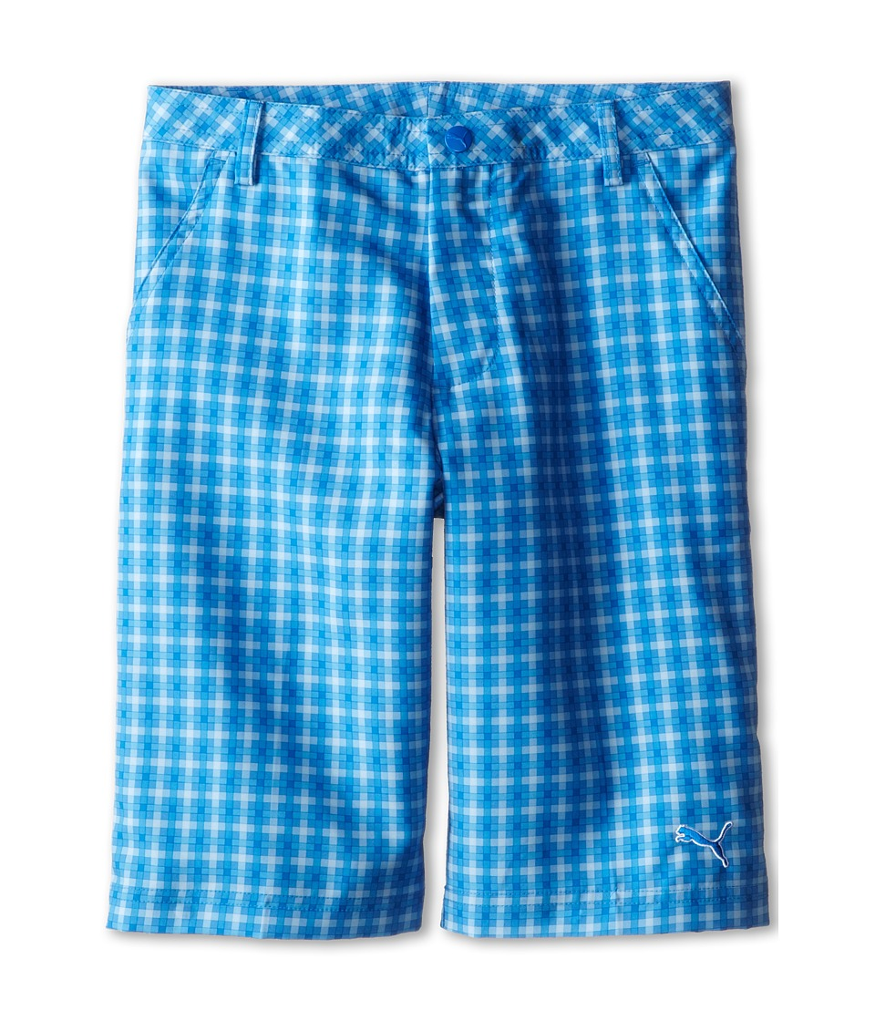 PUMA Golf Kids - Novelty Short (Big Kids) (Strong Blue/Regatta/Cerulean) Boy's Shorts