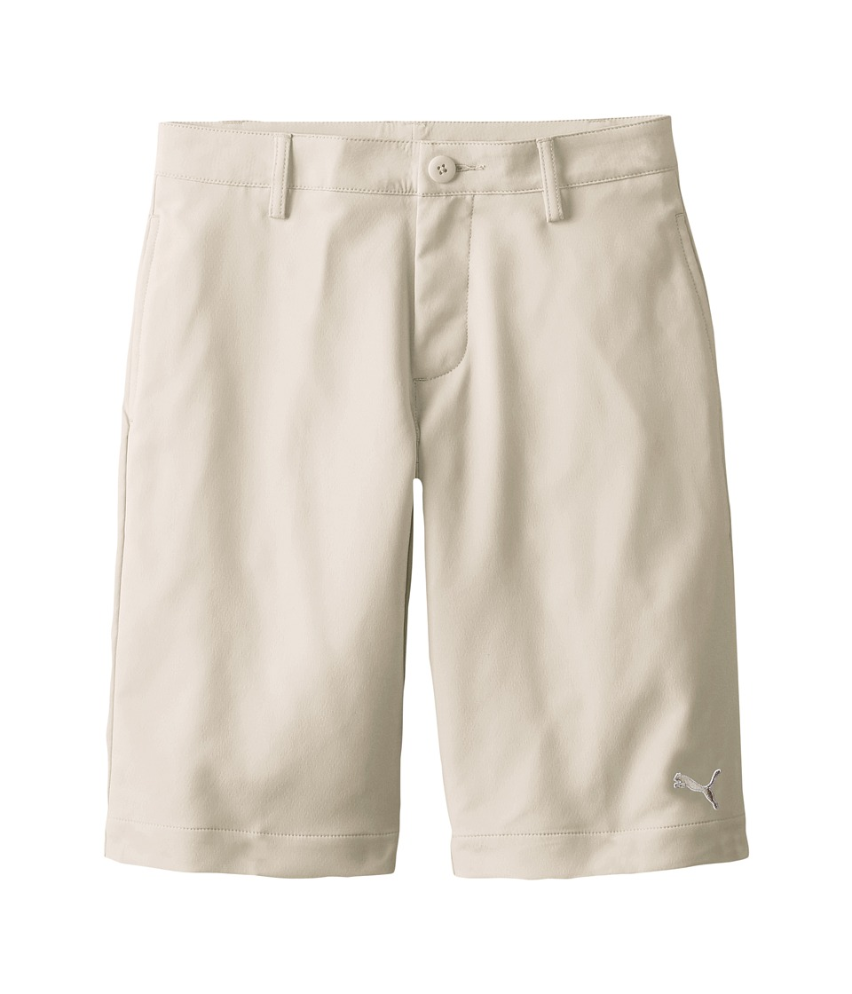 PUMA Golf Kids - Tech Short (Big Kids) (Oatmeal) Boy's Shorts
