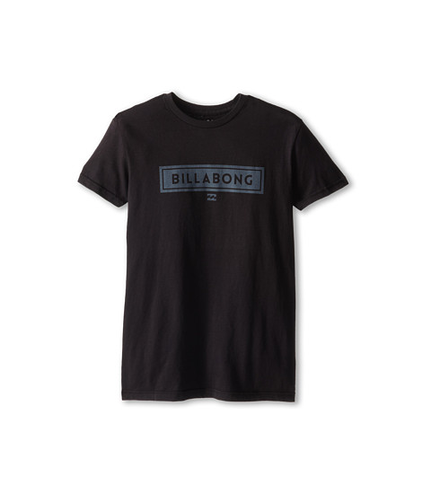 Billabong Kids - Boxer Tee (Big Kids) (Black) Boy