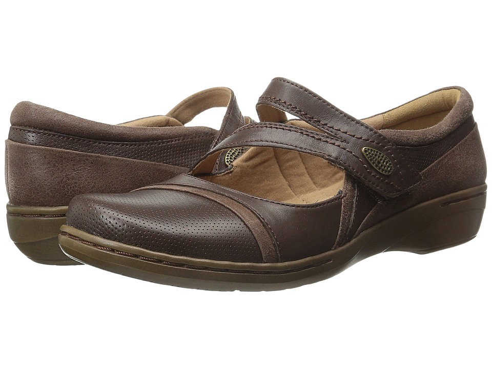 Clarks - Evianna Crown (Brown) Women's Shoes