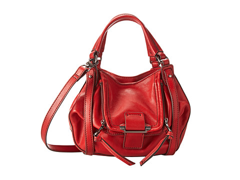 Kooba - Mini Jonnie (Red) Satchel Handbags