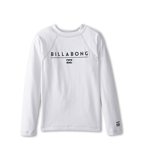 Billabong Kids - All Day L/S Rashguard (Toddler/Little Kids/Big Kids) (White 2) Boy's Swimwear