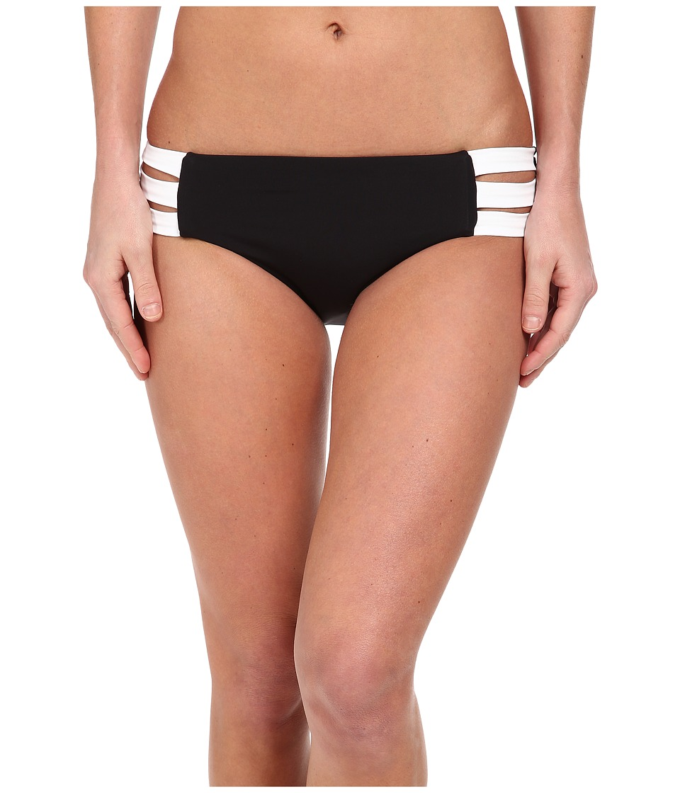 Seafolly - Block Party Multi Strap Hipster (Black) Women