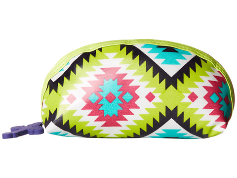 Gypsy SOULE - Small Makeup Bag (Turquoise/Lime/Pink) Bags