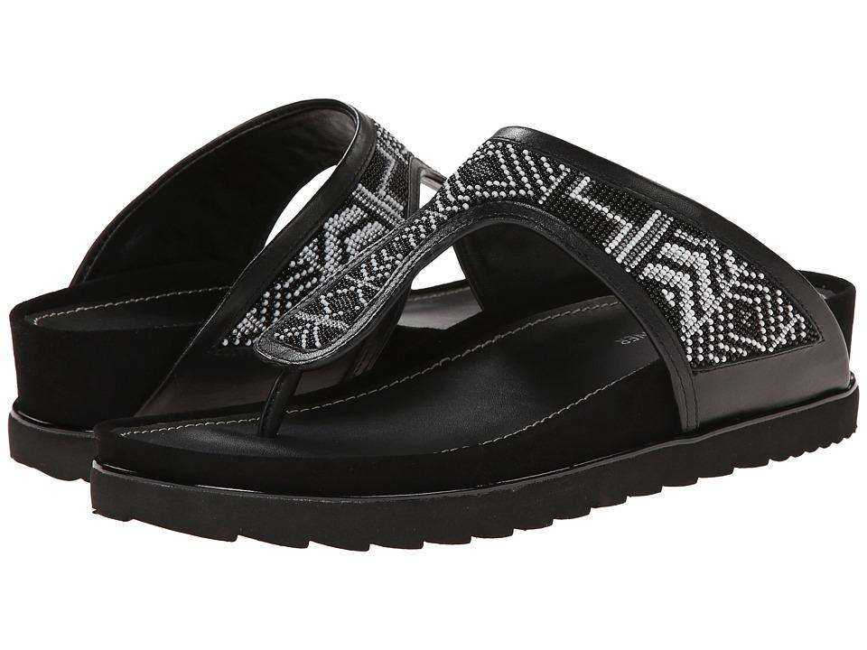 Donald J Pliner - Cali (Black Aztec Woven Beading) Women's Sandals