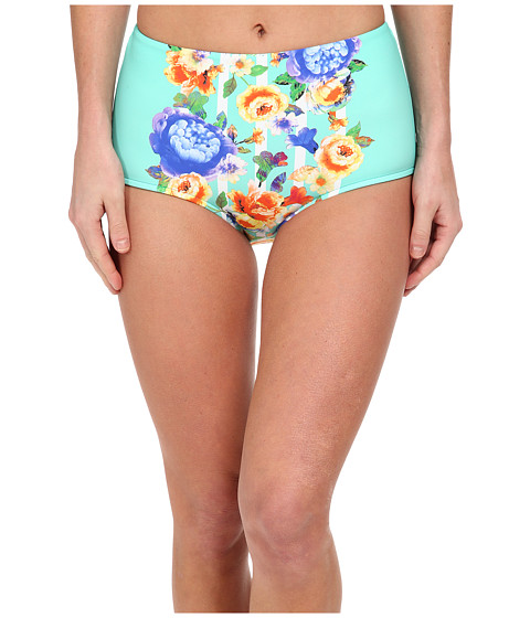 Seafolly - Romeo Rose High Waisted Vintage Pant (Peppermint) Women's Swimwear