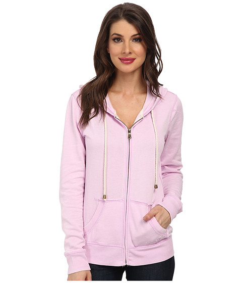 Seven7 Jeans - Burnout Fleece Hoodie (Lilac) Women