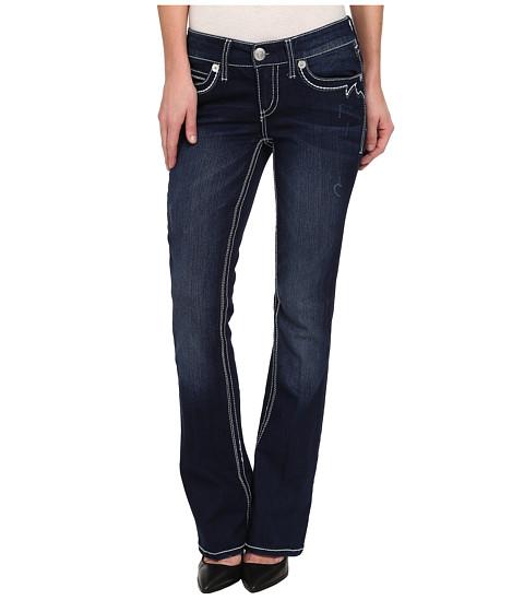 Seven7 Jeans - Boot w/ Flap Jean in Warhol Blue (Warhol Blue) Women's Jeans