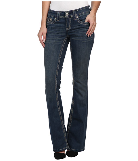 Seven7 Jeans Double Fashion Bootcut Jean in Original Blue (Original Blue) Women's Jeans