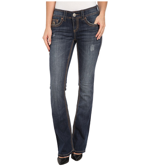 Seven7 Jeans - Double Bootcut Jean in Select Blue (Select Blue) Women
