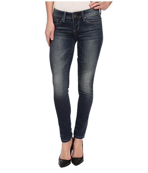 Seven7 Jeans Knit Denim S Pocket Legging in Legacy Blue (Legacy Blue) Women's Jeans