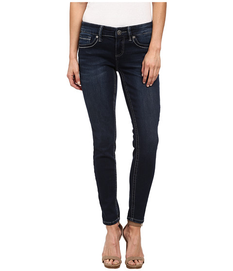Seven7 Jeans Double 7 Embellished Superstretch Legging in Essential Blue (Essential Blue) Women's Jeans