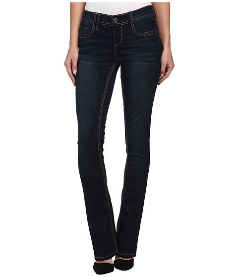 Seven7 Jeans Sateen Rocker Slim Jean in Corvin Blue (Corvin Blue) Women's Jeans