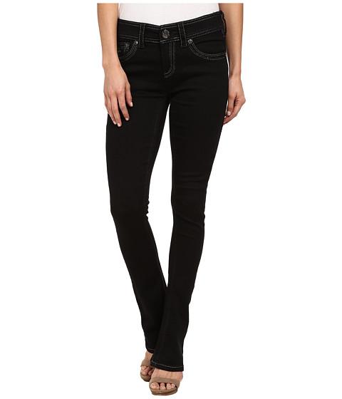 Seven7 Jeans Rocker Slim Jean in Rinse Black (Rinse Black) Women's Jeans
