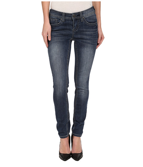 Seven7 Jeans - Skinny Jean in Levitt Blue (Levitt Blue) Women's Jeans