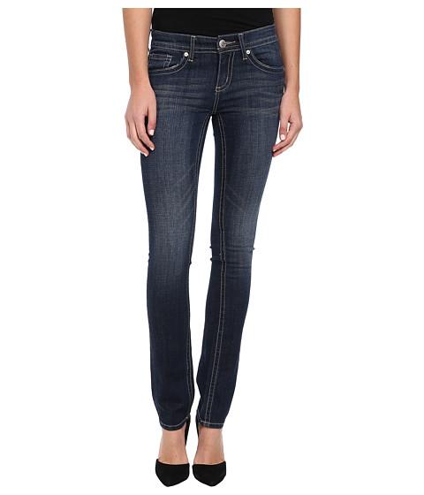 Seven7 Jeans Straight Leg Flap Pocket Jean in Buckley Blue (Buckley Blue) Women's Jeans