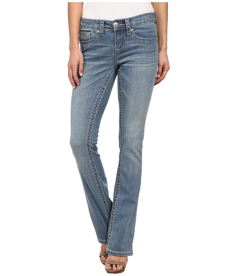 Seven7 Jeans Flap Pocket Bootcut Jean in Phase Blue (Phase Blue) Women's Jeans