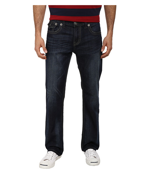 Seven7 Jeans - Heavy Stitch Back Flap Straight Leg in Jagger (Jagger) Men