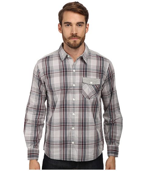 Seven7 Jeans - Single Pocket Roll Sleeve Shirt (Ash) Men