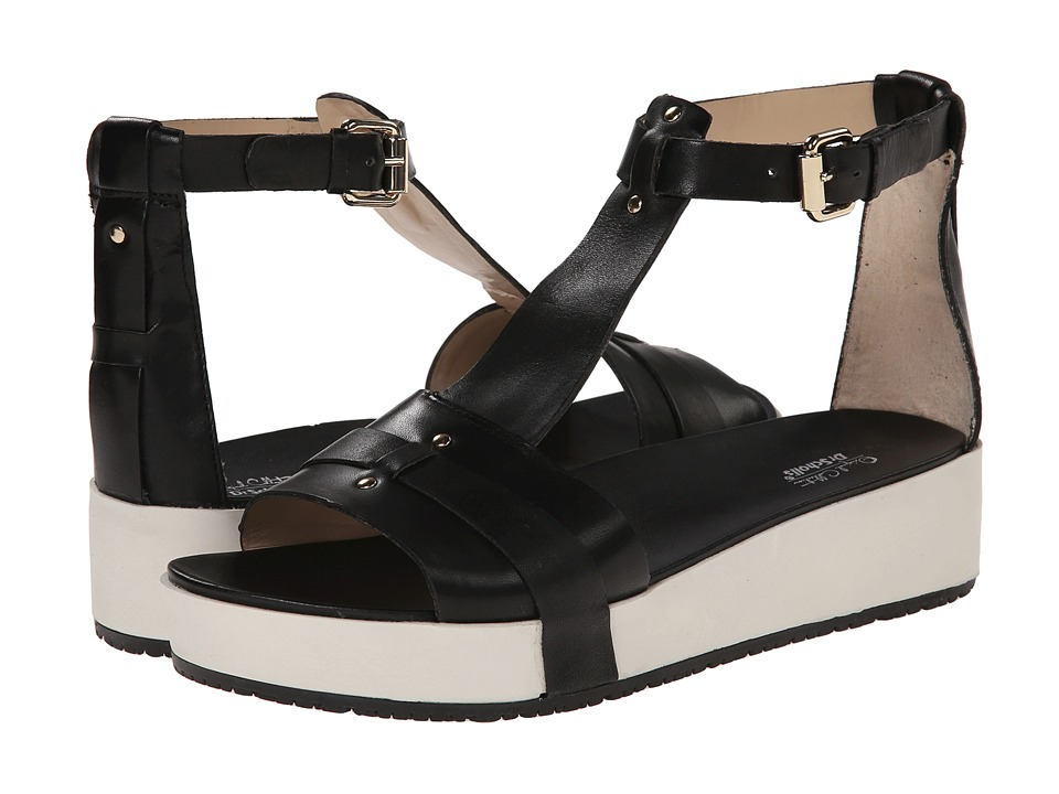 Dr. Scholl's - Fraser - Original Collection (Black Leather) Women's Sandals