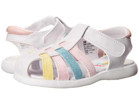 Rachel Kids - Summertime (Toddler) (Pastel/Multi) Girls Shoes