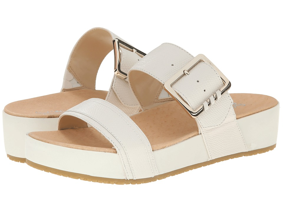 Dr. Scholl's - Frill - Original Collection (Gardenia Leather) Women's Sandals