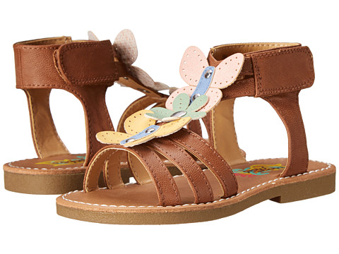 Rachel Kids - Gia (Toddler/Little Kid) (Brown/Multi) Girls Shoes