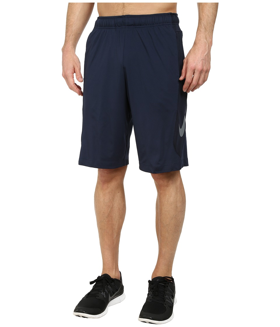 Nike - Hyperspeed Knit Short (Obsidian/Dark Obsidian/Cool Grey/Cool Grey) Men's Shorts