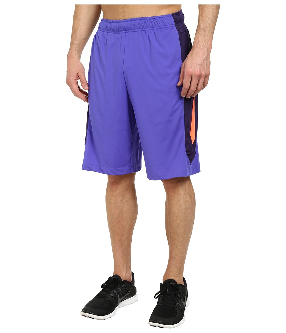 Nike - Hyperspeed Knit Short (Persian Violet/Ink/Hot Lava/Hot Lava) Men's Shorts