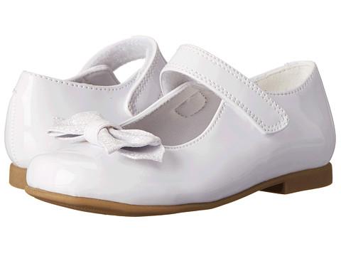 Rachel Kids - Lil Crystal 2 (Toddler/Little Kid) (White Patent) Girls Shoes