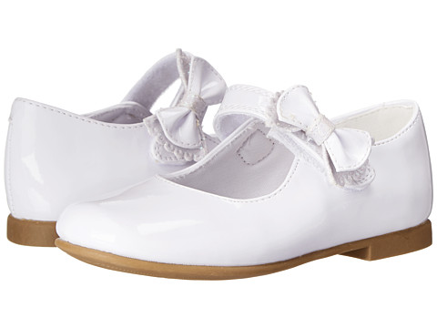 Rachel Kids - Lil Priscila 2 (Toddler) (White Patent) Girls Shoes
