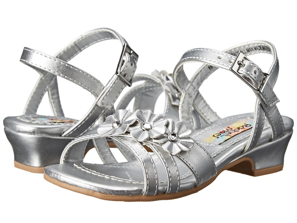 Rachel Kids - Lil Grace (Toddler/Little Kid) (Silver Metallic) Girls Shoes