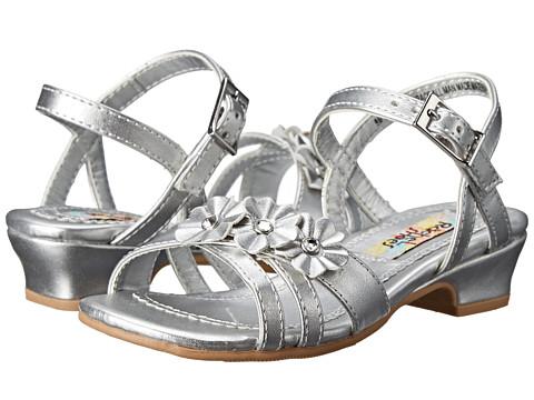 Rachel Kids - Lil Grace (Toddler/Little Kid) (Silver Metallic) Girls Shoes