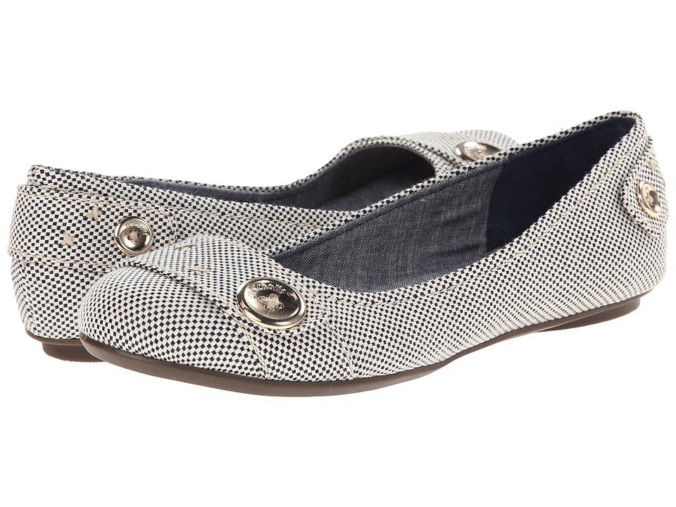 Dr. Scholl's - Fielding (Navy/Gardenia Beach) Women's Flat Shoes