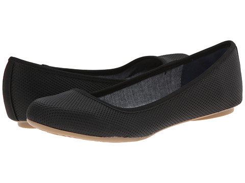 Dr. Scholl's - Friendly (Black Diamond Punch) Women's Flat Shoes