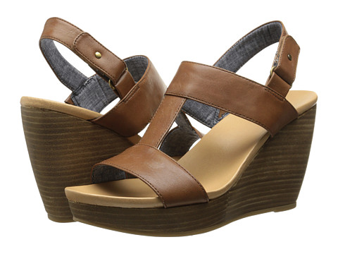 Dr. Scholl's - Mica (Saddle Tan) Women's Wedge Shoes