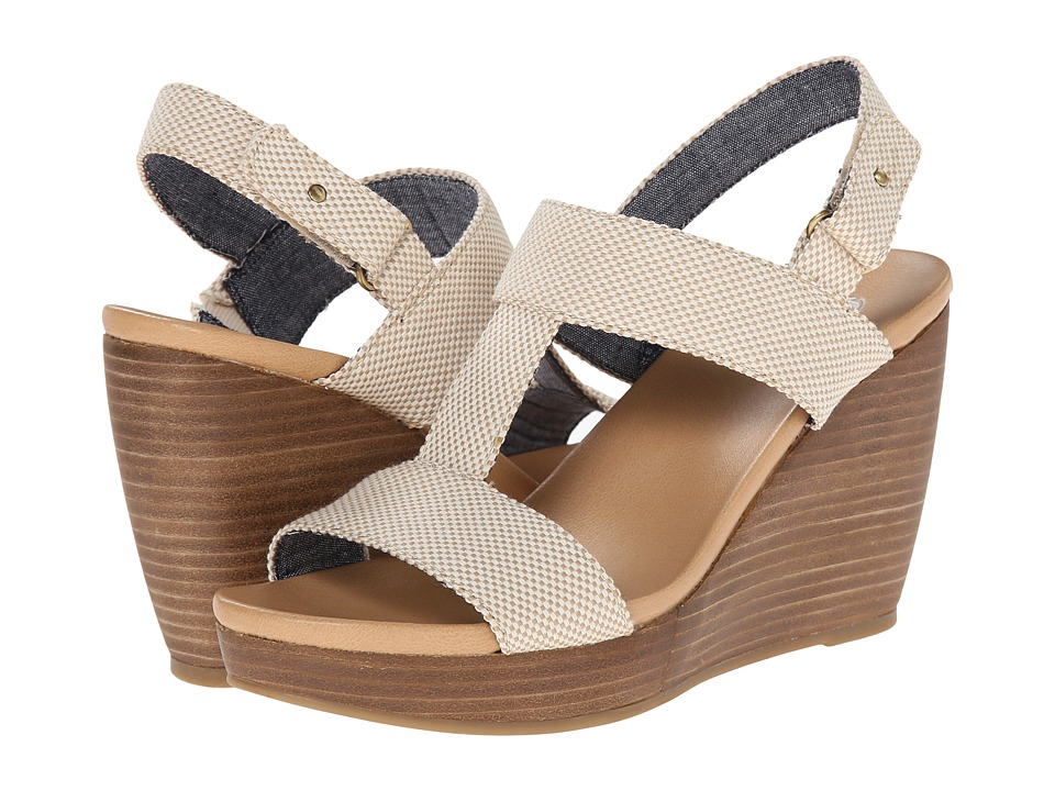 Dr. Scholl's - Mica (Taupe Beach Bag) Women's Wedge Shoes