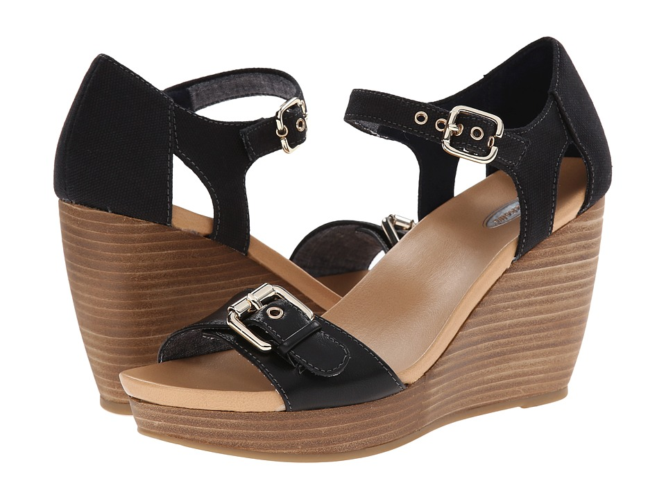 Dr. Scholl's - Molton (Black) Women's Wedge Shoes