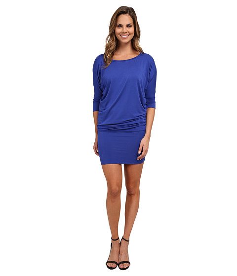 Culture Phit - Millie 3/4 Sleeve T-Shirt Dress (Royal) Women's Dress
