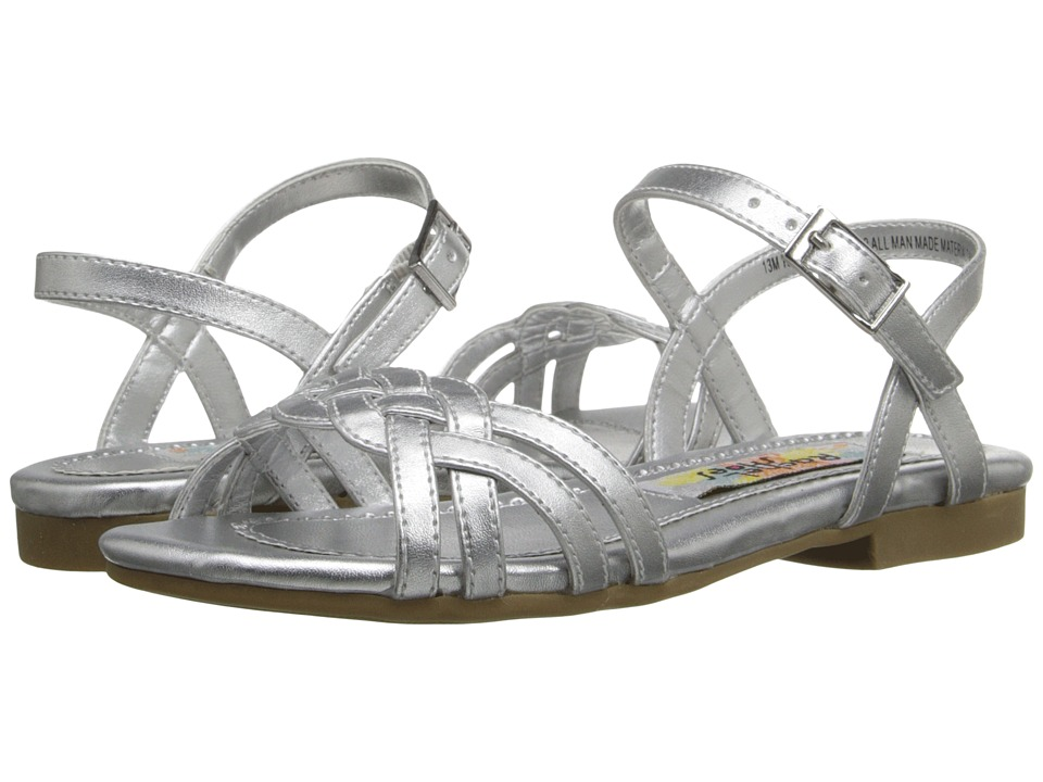 Rachel Kids - Angelina (Little Kid/Big Kid) (Silver Metallic) Girls Shoes