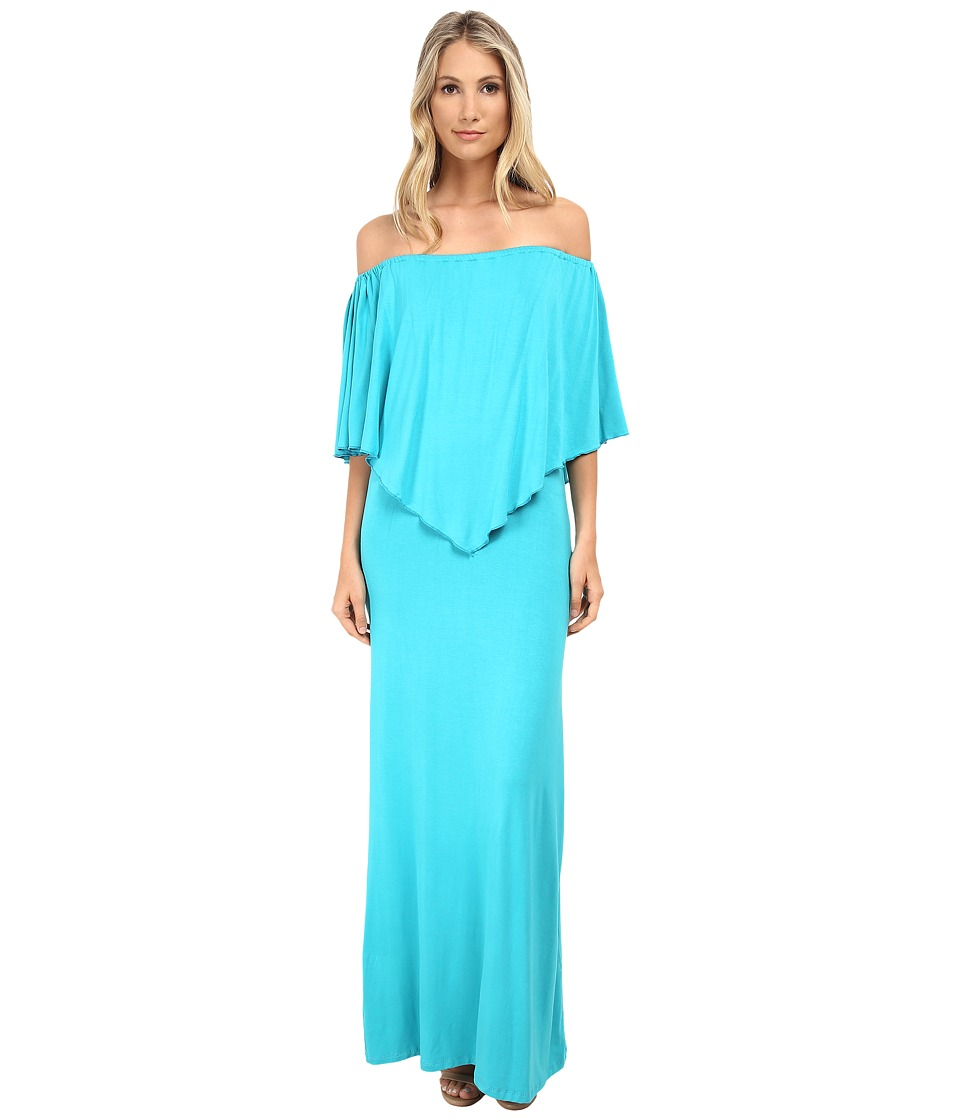 Culture Phit - Ayden Dress (Aqua) Women's Dress